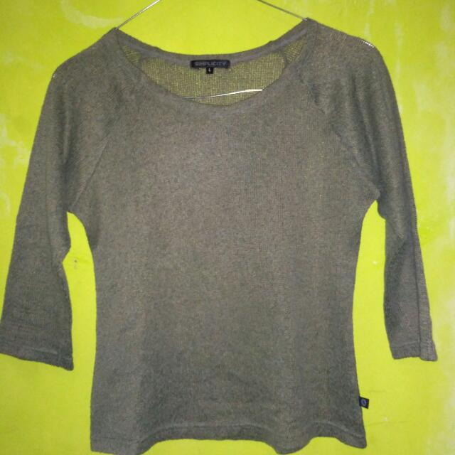 Sweater Crop Import
