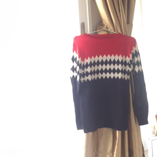 Sweter Rajut
