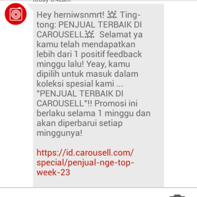 Terimakasih Carousell!!!