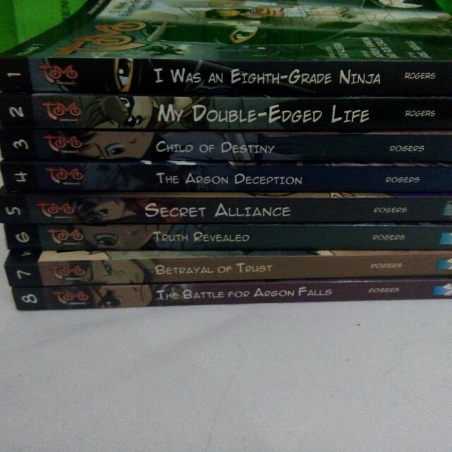 Tomo Vol 1-8 (Graphic Novel)
