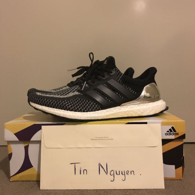 Ultra Boost Silver Medal US 11.5 (PENDING)