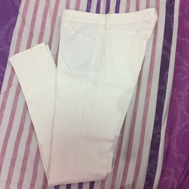 Uniqlo White Pants