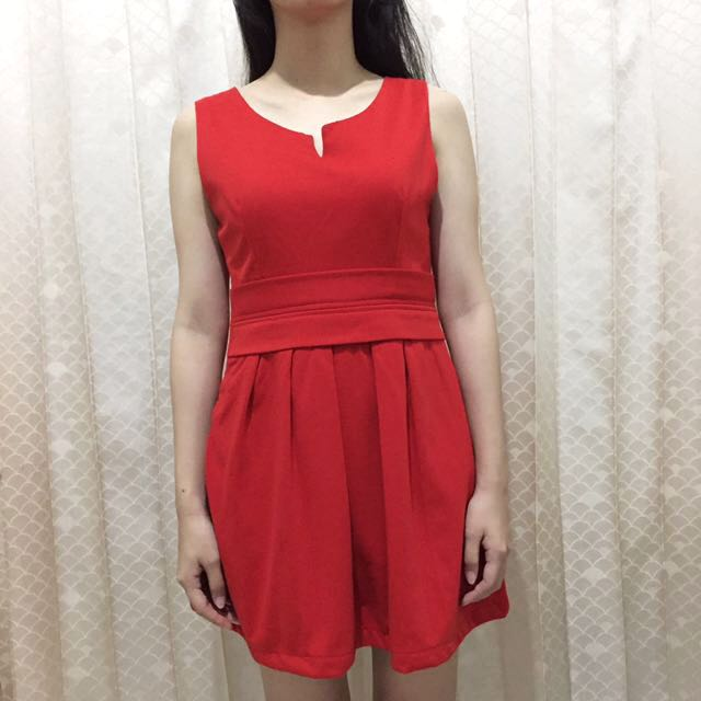 Uptown Girl Red Dress