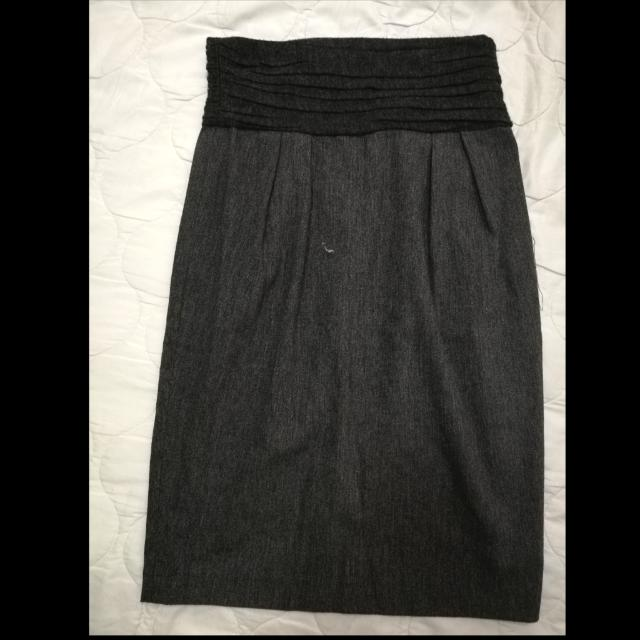 Zara Basic High Waist Pencil Cut Skirt
