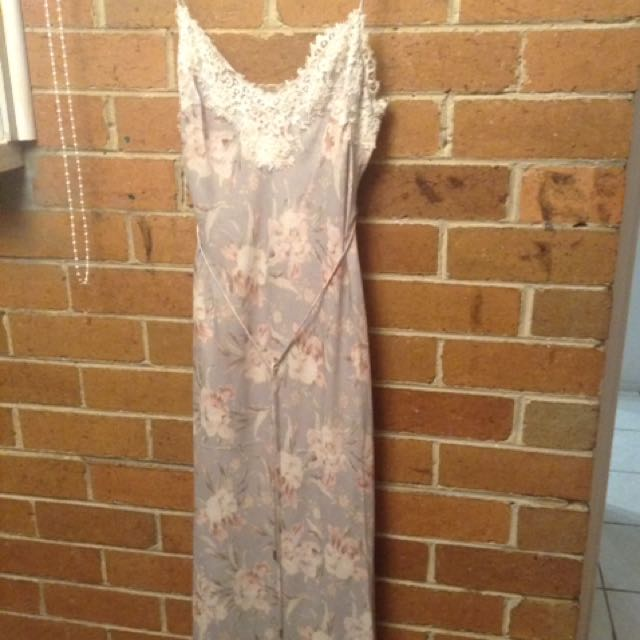 Zimmermann Stranded Slip Dress