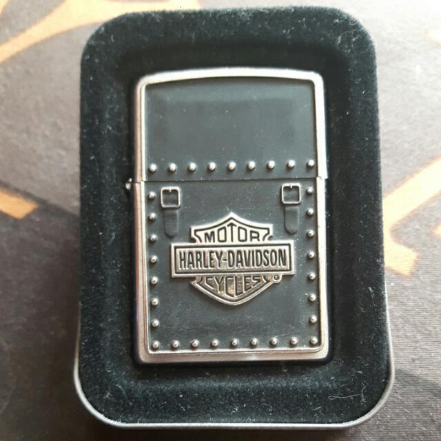 Zippo Harley Davidson Saddle Bag
