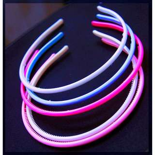 Bando Fashion Warna Pelangi