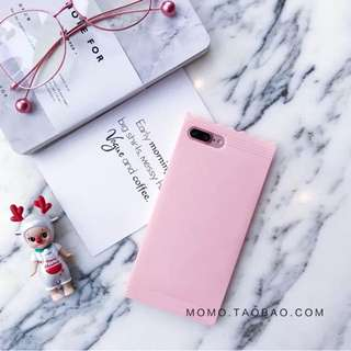 Candy iPhone 7+ Soft Case (Baby Pink)