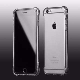 最基本款 透明四角防摔 IPhone case