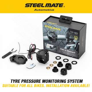 STEELMATE Motorcycle Tyre Pressure Monitoring System TPMS
