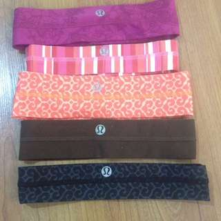 5 Lululemon Headbands
