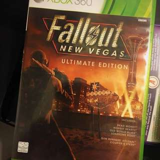 FALLOUT New Vegas ULTIMATE EDITION For XBOX 360 (NTSC-J | Assembled In Singapore)