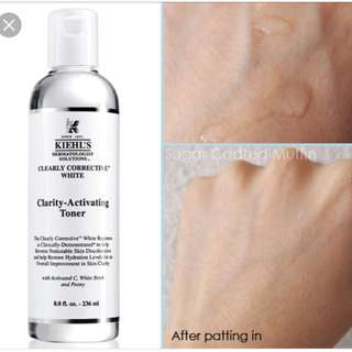 Kiehl's Clearly Corrective Clarity Activating Toner
