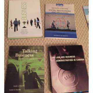 University of Toronto business & accounting textbooks FOR CHEAP