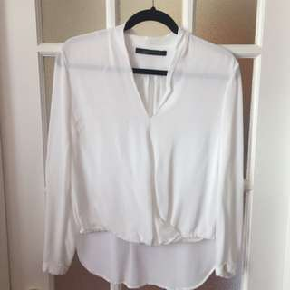 Zara Long Sleeve Top (small)