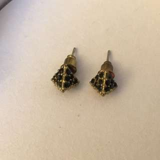Triangle Pyramid Earrings