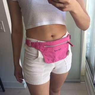 Vintage Hot Pink Fanny Pack