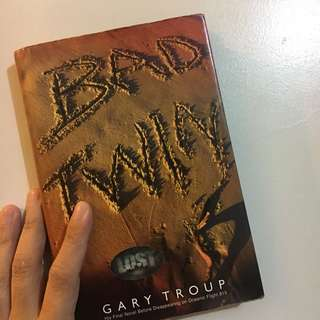 HARD TO FIND Item! - BAD TWIN (Novel by Gary Troup)