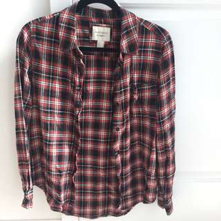 Plaid/Flannel Shirt Forever 21