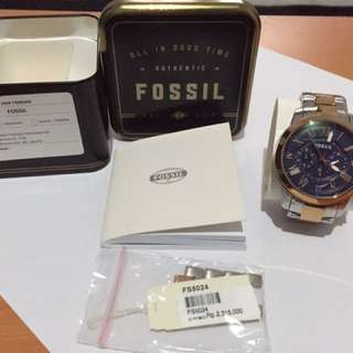 FOSSIL Men's Watch Three-tone (stainless steel)