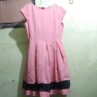 Dress Peach Kekinian