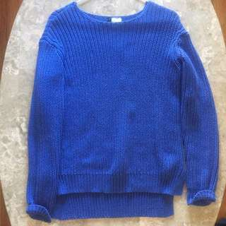 Blue H&M Jumper