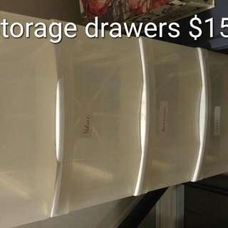 Plastic Storagw Drawers