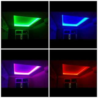 False Ceiling With LED Lightings