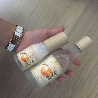 Skinfood Peach Sake Serum & Toner