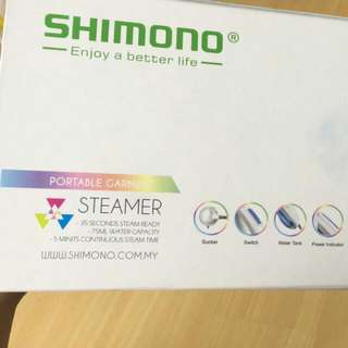 Shimono Portable Garment Steamer Used