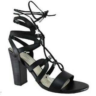 Human Premium Narelle Lace Up Heels Size 39