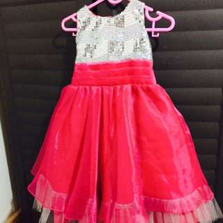 IHA Silver/Pink Gown