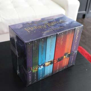 HARRY POTTER BOX SET: THE COMPLETE PAPERBACK COLLECTION - UNOPENED