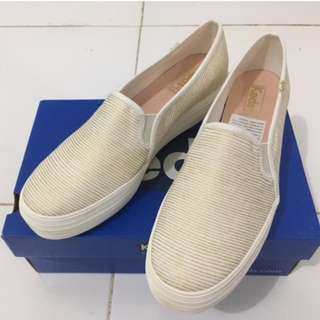 Keds Trip deck stripe nat/gold