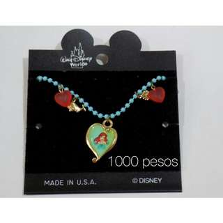 Authentic Walt Disney World Little Mermaid Ariel Charm Bracelet