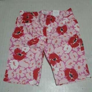Floral Skimmer Shorts (Pedals)