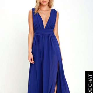 Brand New Lulus Maxi Dress