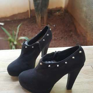 Unkle Boot Branded Original LOOK YOUR FEET ARE GORGEOUS BLACK Size 38 Size 5