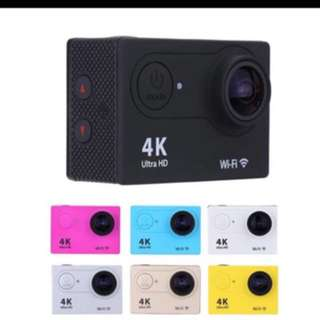 New Action camera F60 Ultra HD 4K WiFi Camara Deportiva 2.0 LCD Helmet mini Cam Diving 30M underwater waterproof
