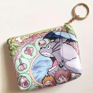 可愛龍貓零錢包