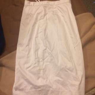 White Span Skirt - Rok Putih Span