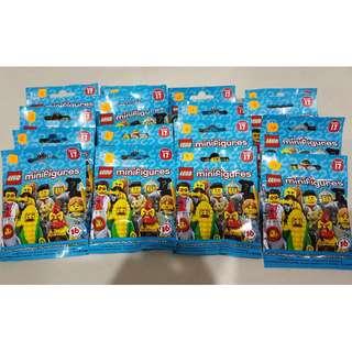 Price Lowered! LEGO Minifigures, Series 17 Set