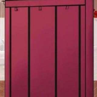 超大空間加固三排組合式DIY大衣櫃衣櫥