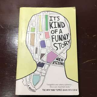 It's Kind Of A Funny Story By Nee Vizzini