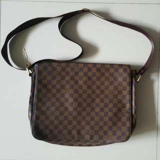 Tas 2nd Branded Louis Vuitton Messenger Bags Damier Ex Kado