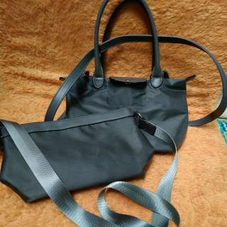 #Tisgratis Fashion 2in1 Bag Grey