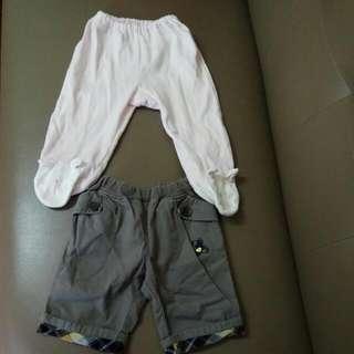 范侖鐵諾嬰幼兒小孩童裝褲子棉褲