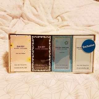 Marc Jacobs DAISY Fragrance Sampler Set !