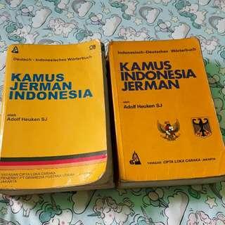 (2nd) Kamus Bahasa Indonesia Jerman - Jerman Indonesia #SSS
