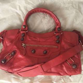 100% Authentic Preloved Balenciaga Part Time RGGH Orange Brulee